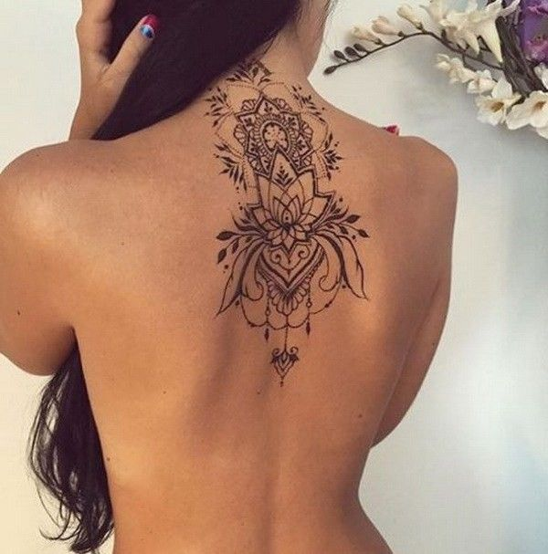 Back Of Neck Tattoos For Women (132)