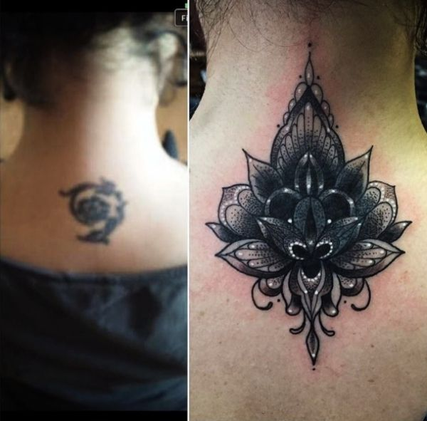 Back Of Neck Tattoos For Women (139)