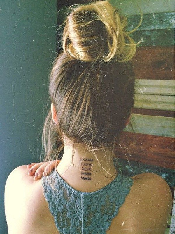 Back Of Neck Tattoos For Women (145)