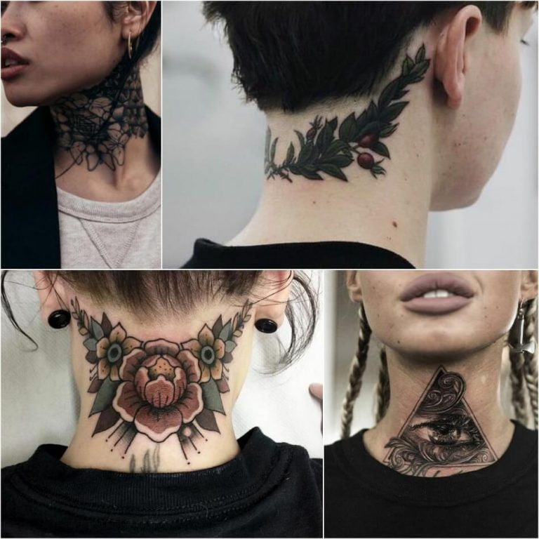 Back Of Neck Tattoos For Women (15)