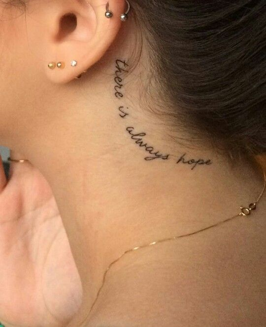 Back Of Neck Tattoos For Women (173)