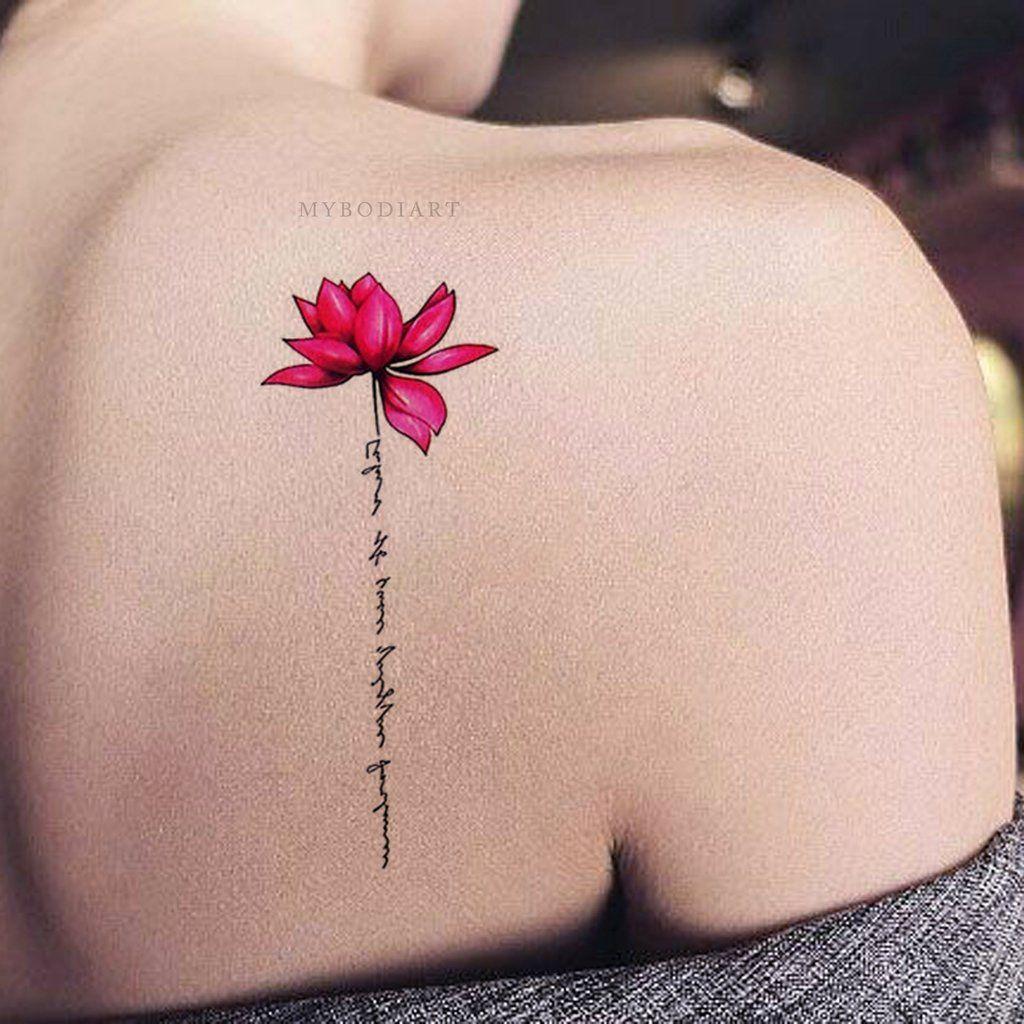 Back Of Neck Tattoos For Women (22)