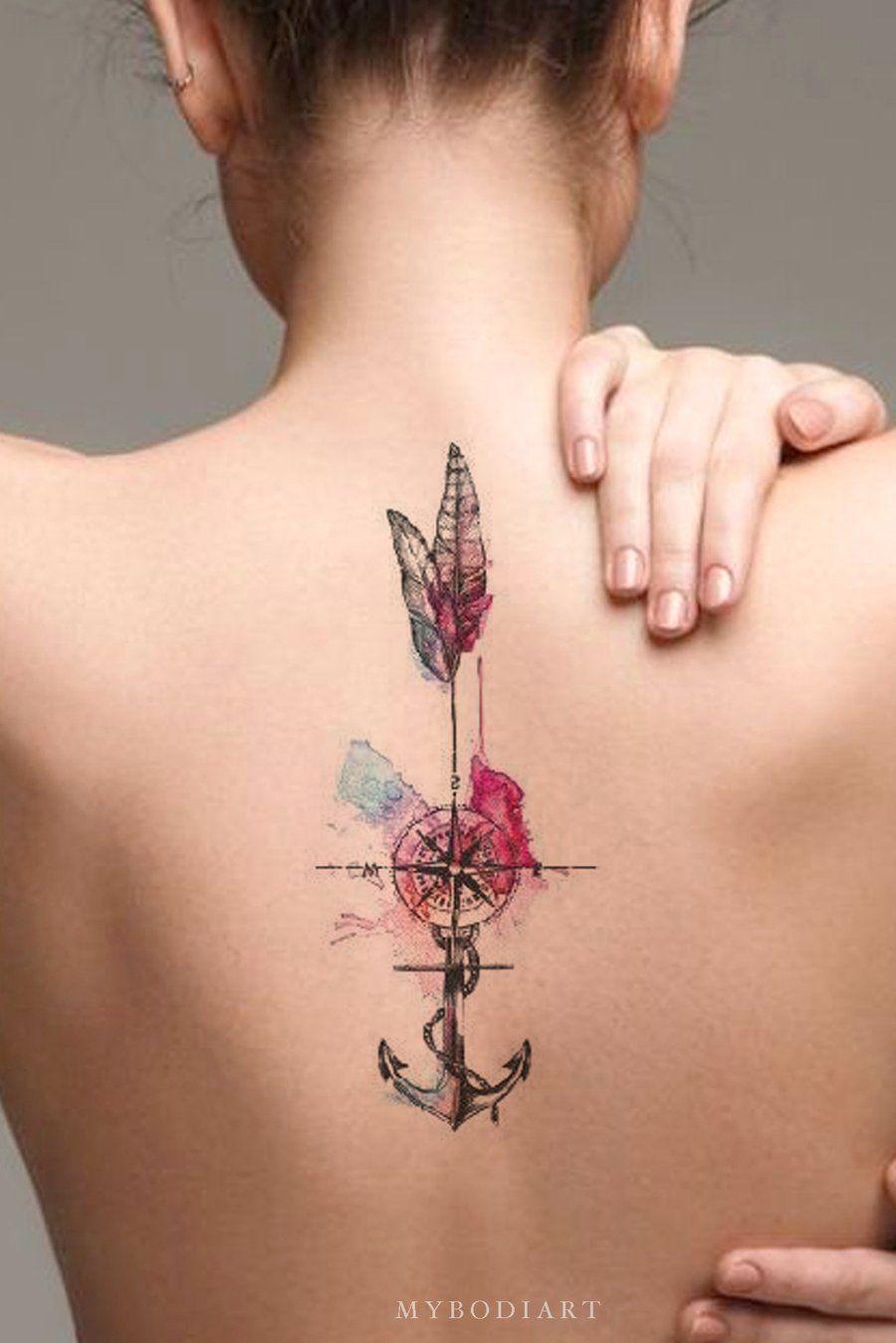 Back Of Neck Tattoos For Women (27)