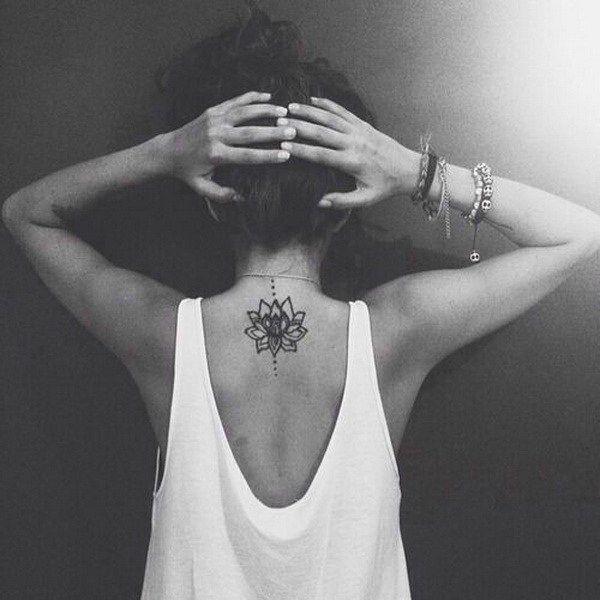 Back Of Neck Tattoos For Women (49)