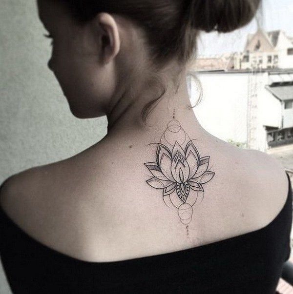 Back Of Neck Tattoos For Women (5)