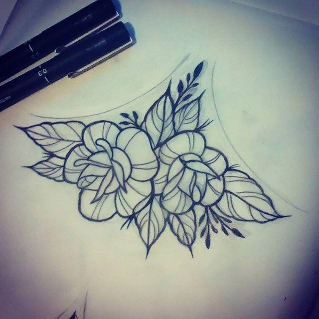 Back Of Neck Tattoos For Women (52)