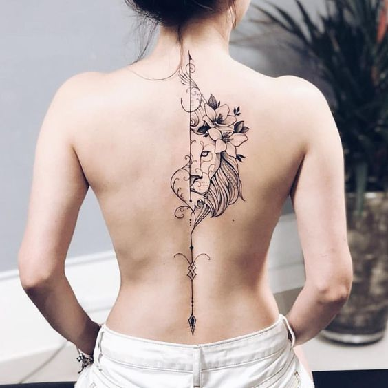 Back Of Neck Tattoos For Women (53)