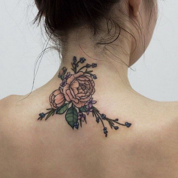 Back Of Neck Tattoos For Women (54)