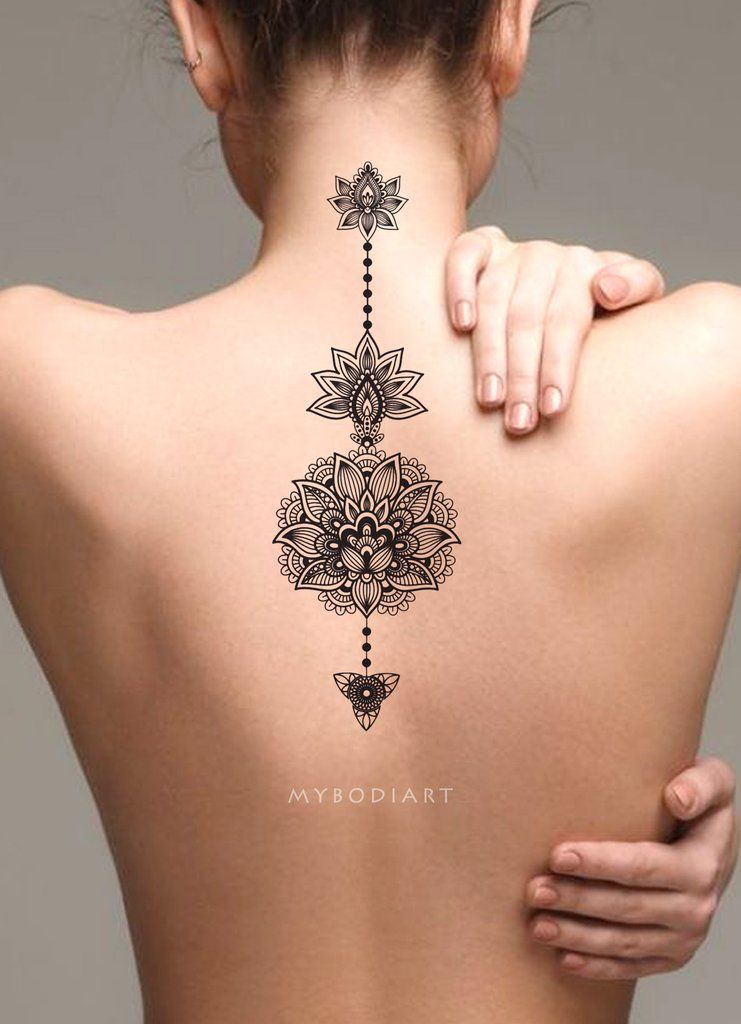 Back Of Neck Tattoos For Women (62)