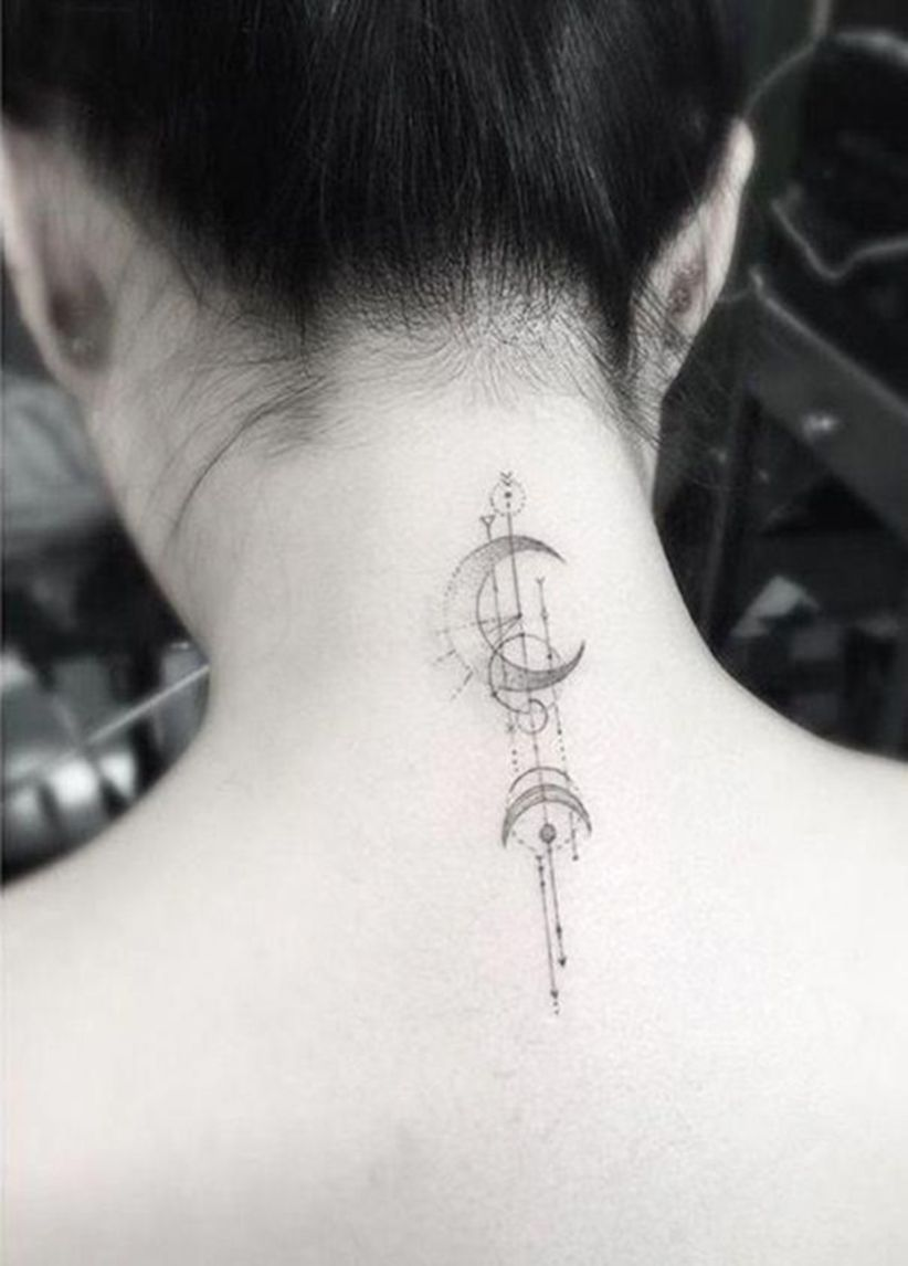 Back Of Neck Tattoos For Women (66)