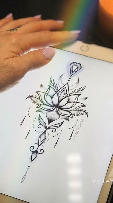Back Of Neck Tattoos For Women (67)