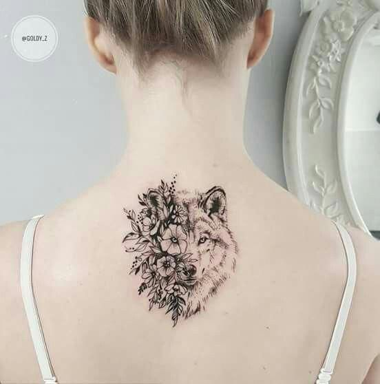 Back Of Neck Tattoos For Women (91)