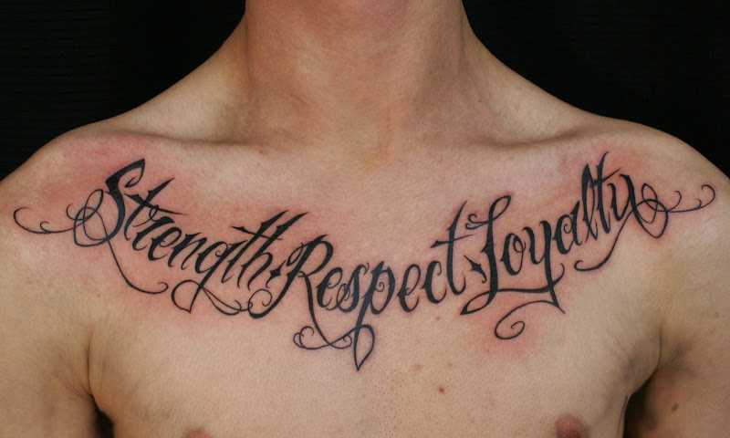 Chest Tattoo Quotes About Life 818