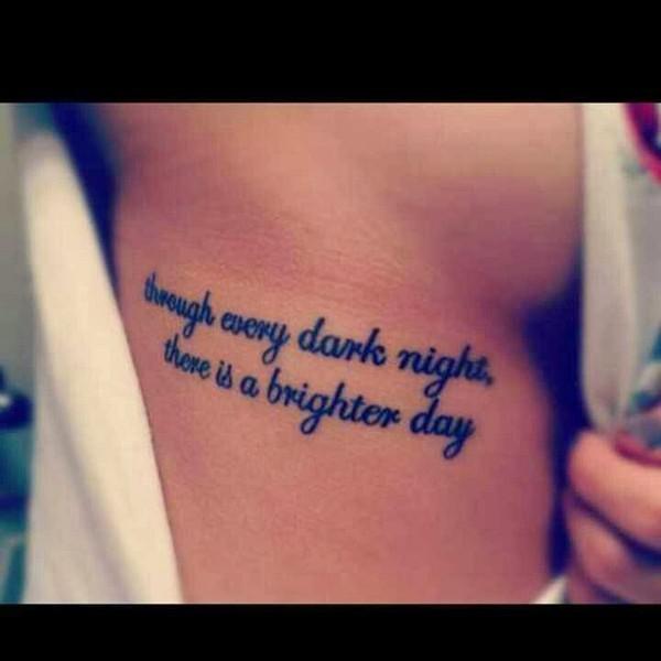 Inspiring Tattoo Quote