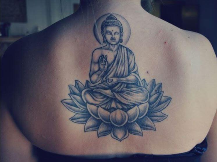 Lotus Flower Buddhist Tattoo