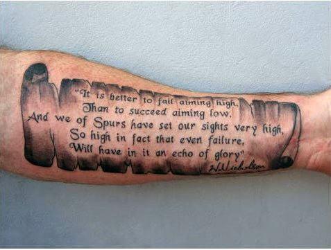 Quote Tattoos Memorial