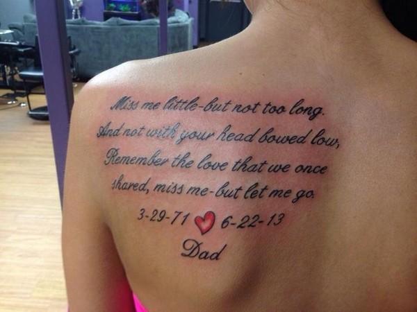 Sad Tattoo Quote