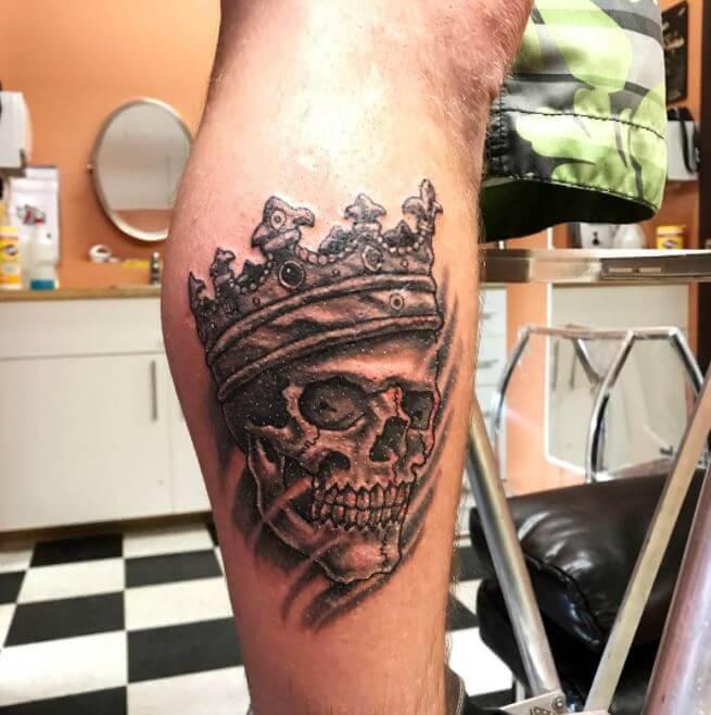 Skull Crown Tattoo
