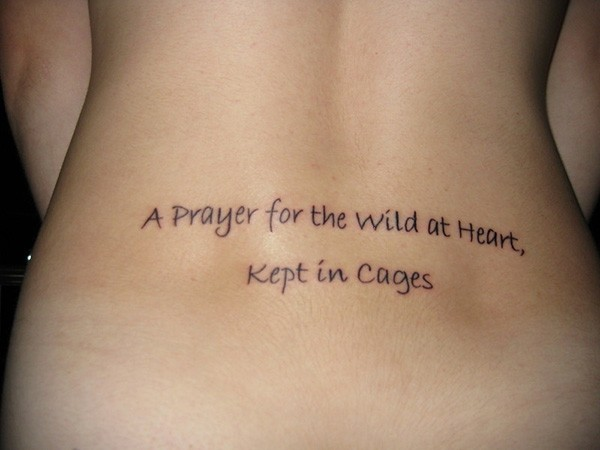 Tennessee Williams Tatoo Quote