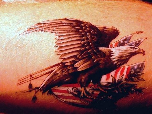 3160916 American Flag Tattoos