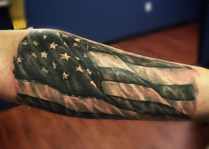 American Flag Tattoo (1)