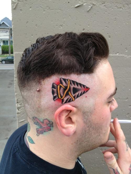 Arrow Head Tattoo Designs For Men