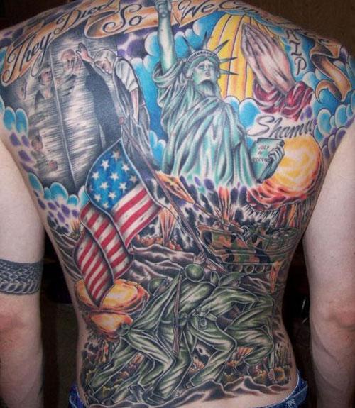 Best Patriotic American Tattoos