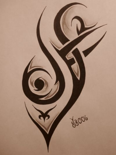 Cool Tribal Tattoos Designs (59)