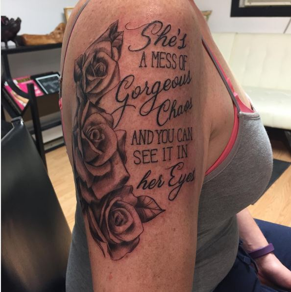 Cool And Pretty Pics Quote Tattoos Design For Girls