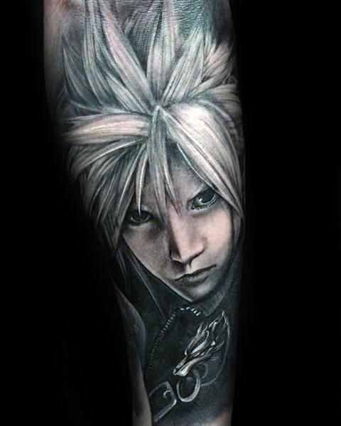 Final Fantasy Tattoo Designs For Men (14)