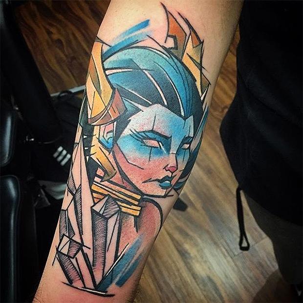Final Fantasy Tattoo Designs For Men (19)
