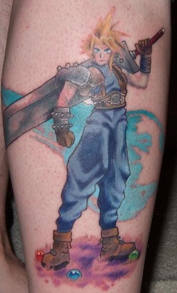Final Fantasy Tattoo Designs For Men (49)