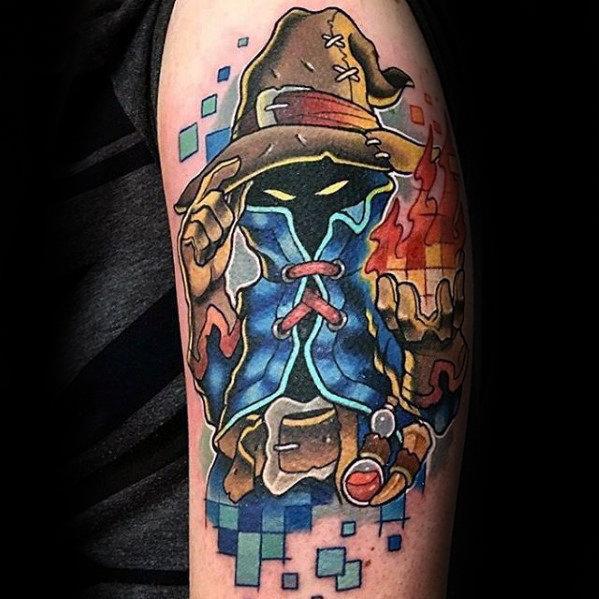 Final Fantasy Tattoo Designs For Men (57)