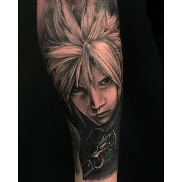 Final Fantasy Tattoos For Men