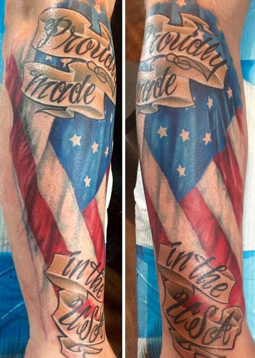 Made In America Tattoo