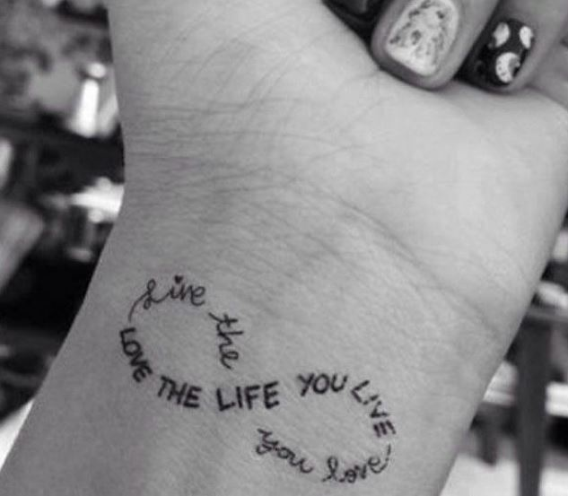 Quote Tattoos For Women