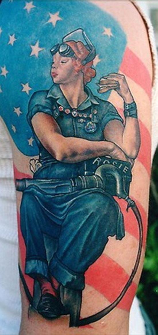 American Flag Tattoo 12