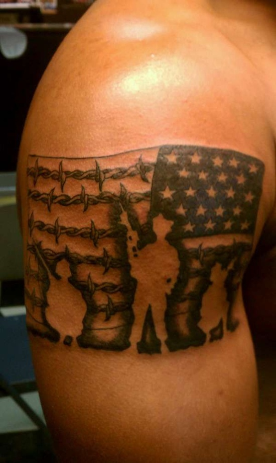 American Flag Tattoo 19