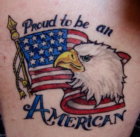 American Flag Tattoo 22