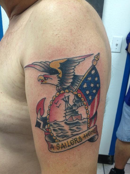 American Flag Tattoo 24