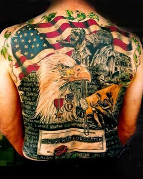 American Flag Tattoo 4