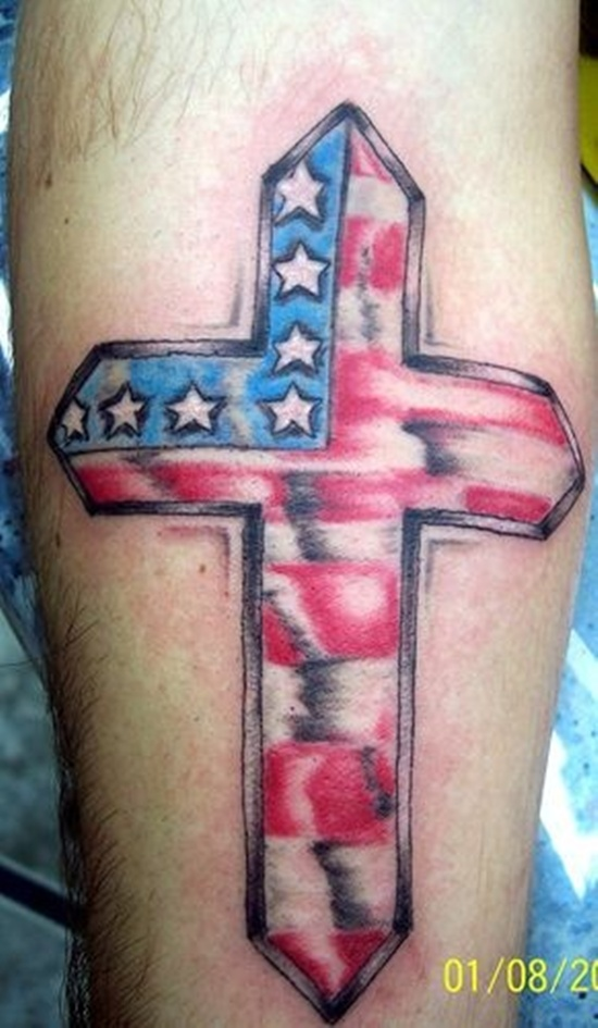 American Flag Tattoo 7