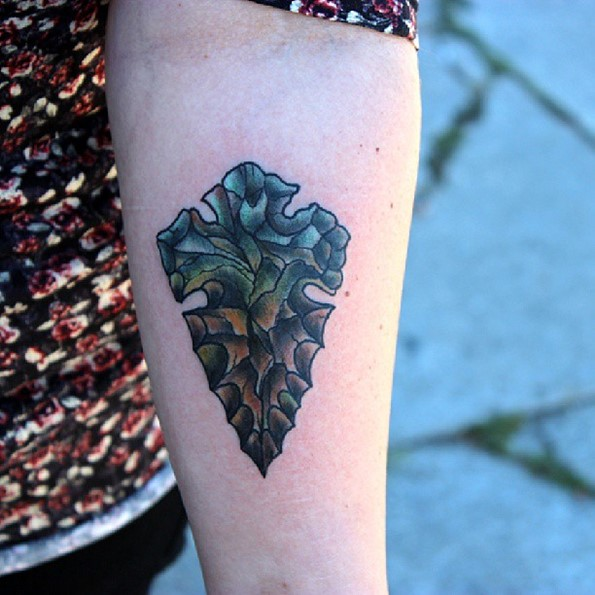 Arrowhead Nofilter Tattoo