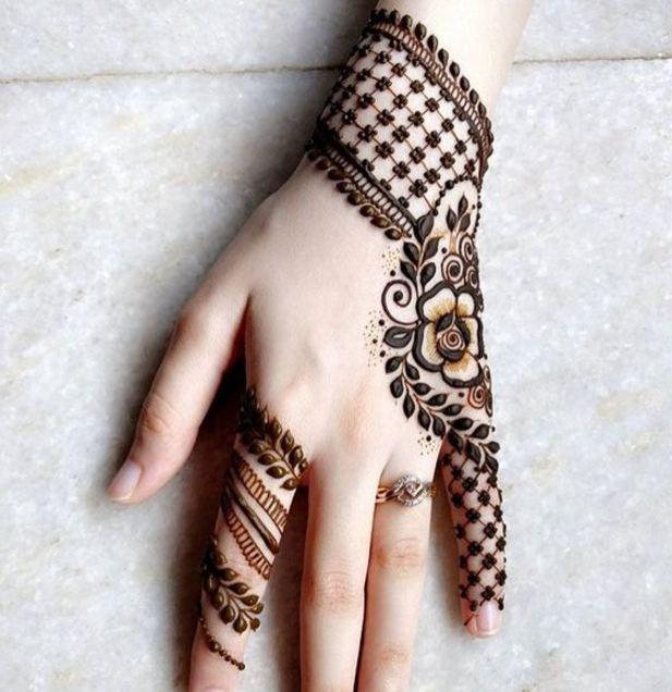 Basic Henna Designs