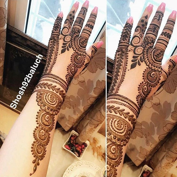 Beautiful Mehandi Design (2)
