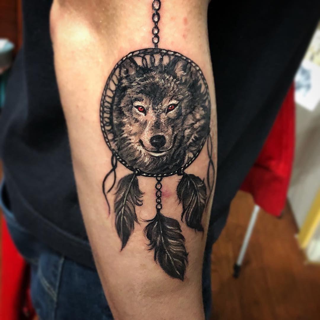 Celtic Dreamcatcher Tattoo (1)