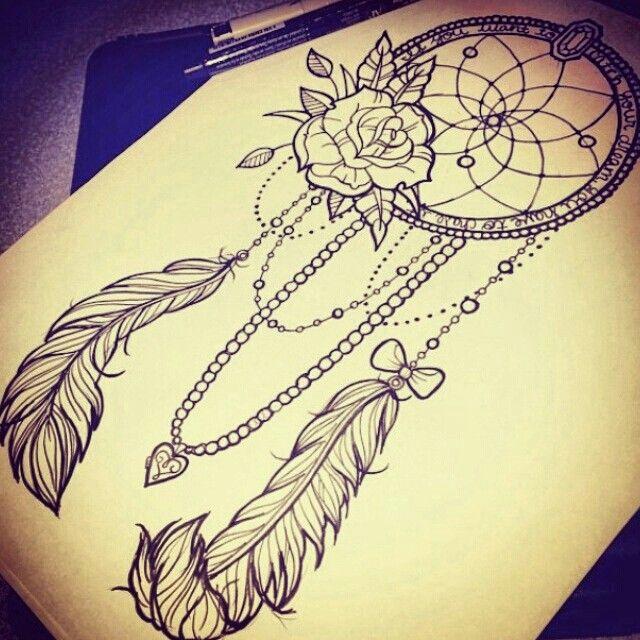 Celtic Dreamcatcher Tattoo (11)