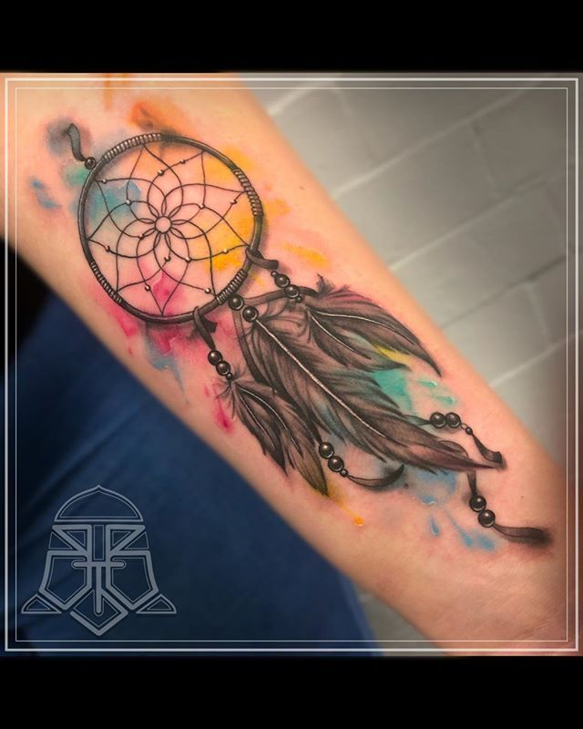 Celtic Dreamcatcher Tattoo (3)