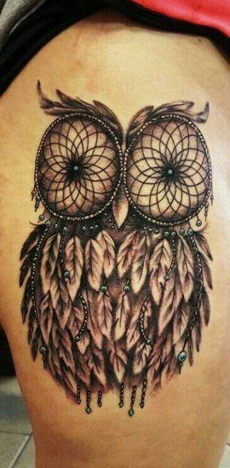 Celtic Dreamcatcher Tattoo (4)
