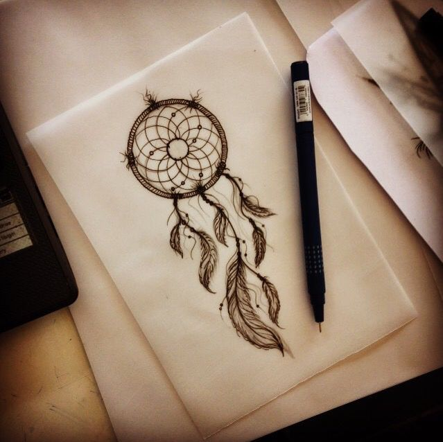 Celtic Dreamcatcher Tattoo (9)